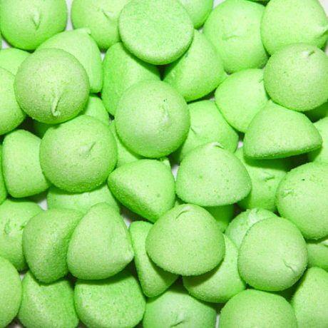 green paint balls